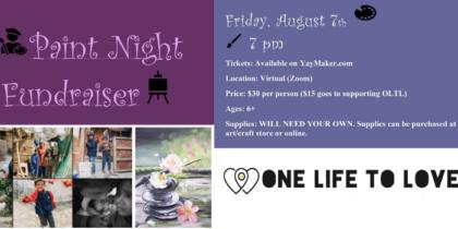 Virtual Paint Fundraiser